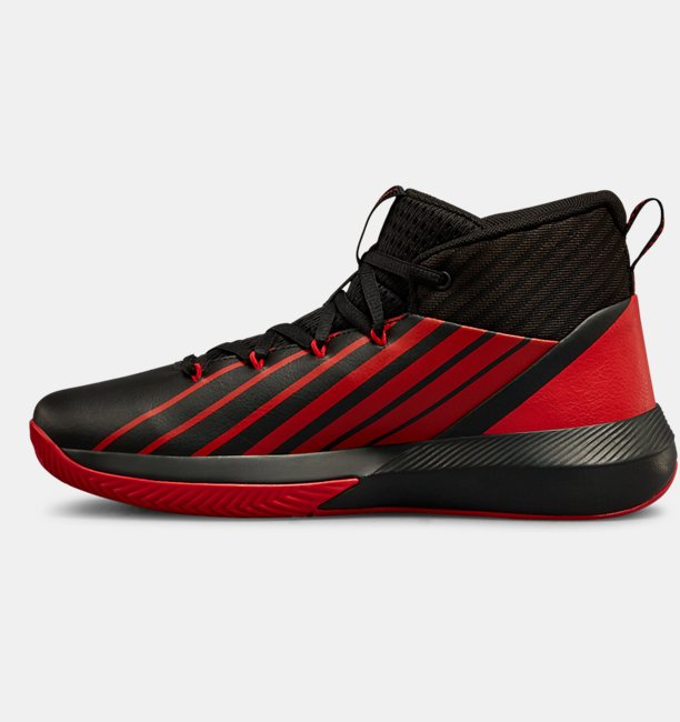 Boys Grade School UA Lockdown 3 Basketball Shoes