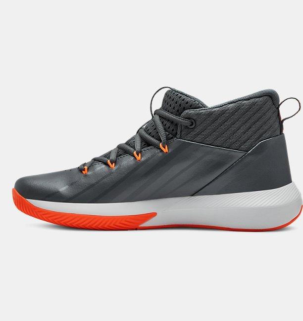 6dde9c78f4d7 Boys  Primary School UA Lockdown 3 Basketball Shoes