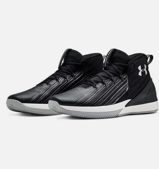 Mens UA Lockdown 3 Basketball Shoes