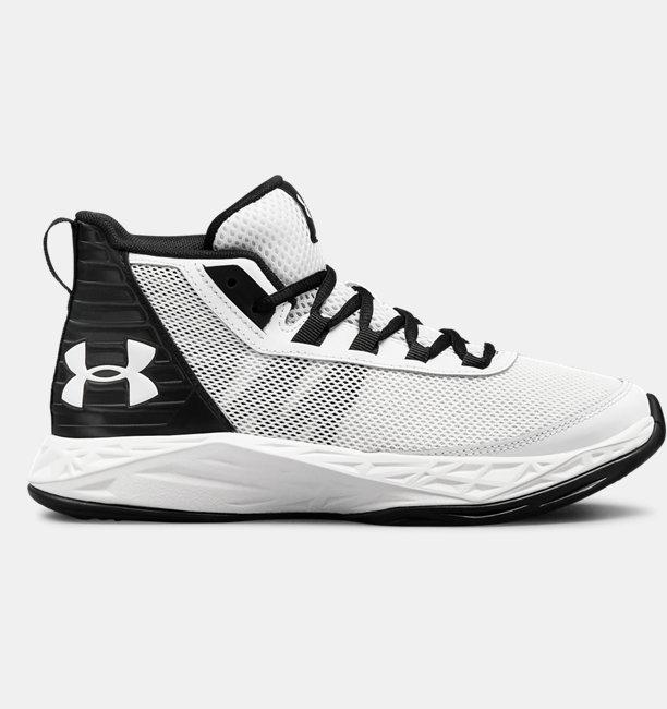 62a7237174b Boys  Grade School UA Jet 2018 Basketball Shoes