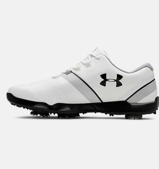 Boys UA Spieth 3 Jr. Golf Shoes