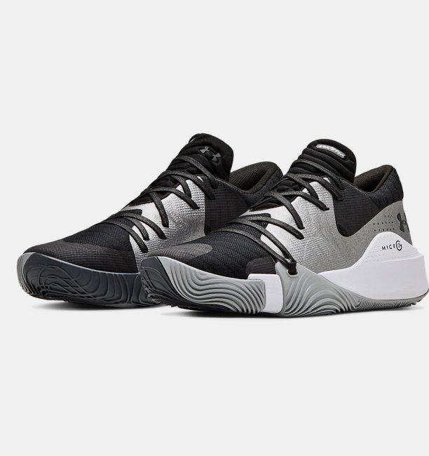 Mens UA Anatomix Spawn Low Basketball Shoes
