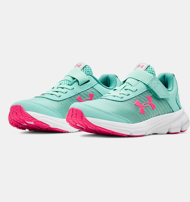 Girls Pre-School UA Rave 2 NP AC Running Shoes