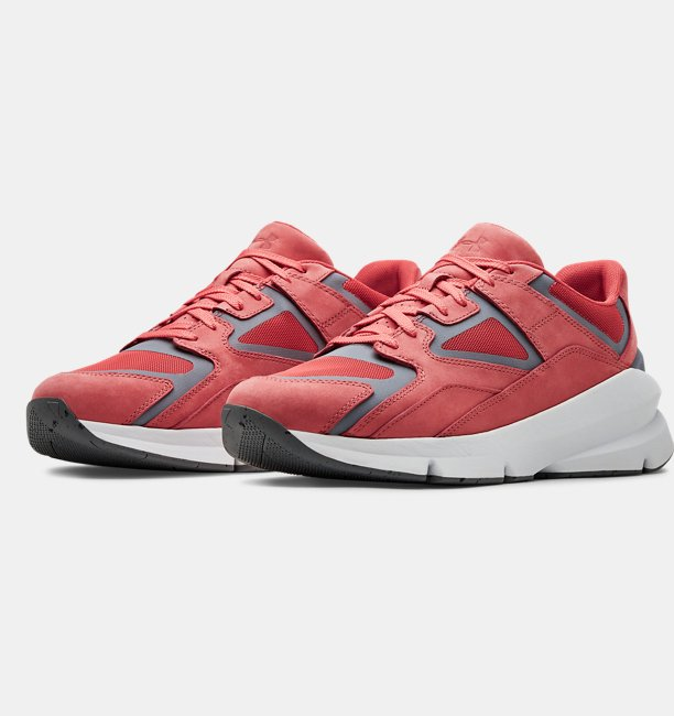 Sepatu UA Forge 96 Nubuck Reflect Sportstyle untuk Pria dan Wanita