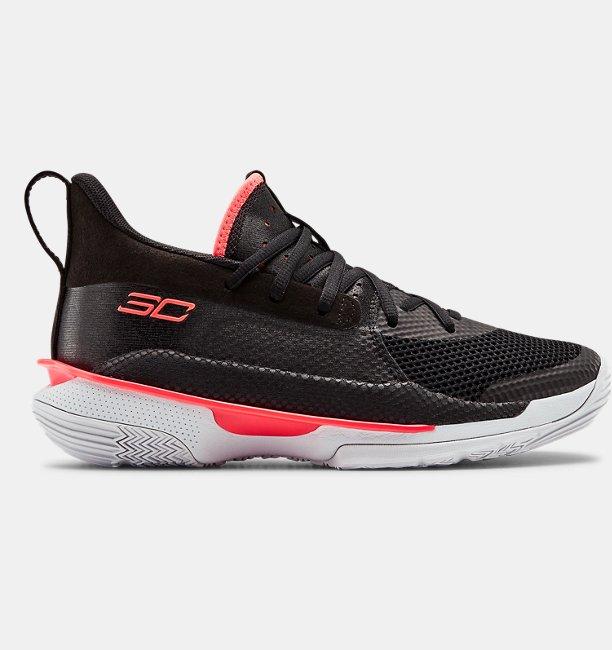 UA Grade School Curry 7 Basketball Shoes