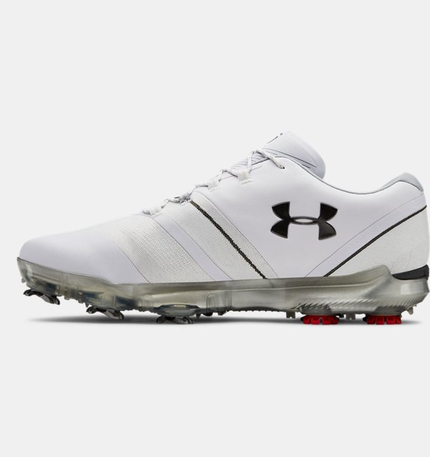 Mens UA Spieth 3 Wide 2E Golf Shoes