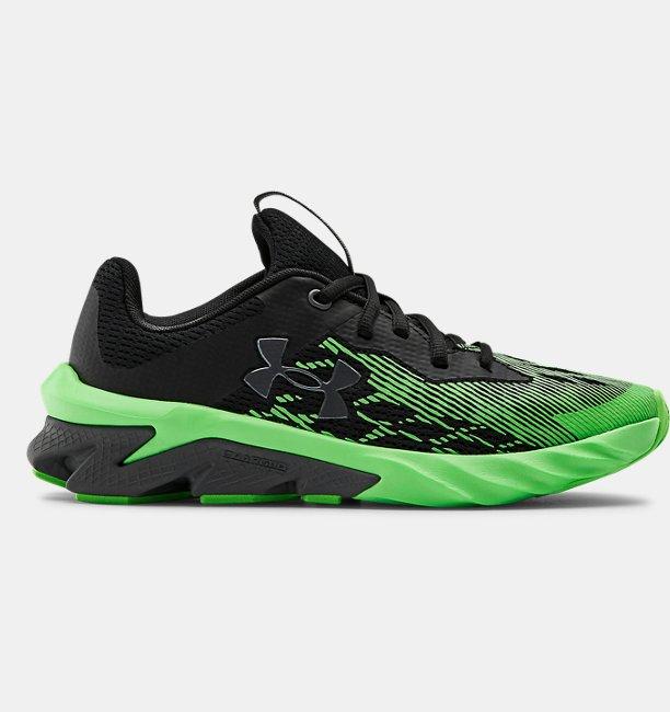 Boys Grade School UA Charged Scramjet 3 Running Shoes