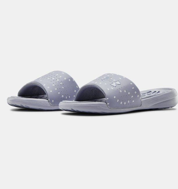 Womens UA Playmaker Micro Slides