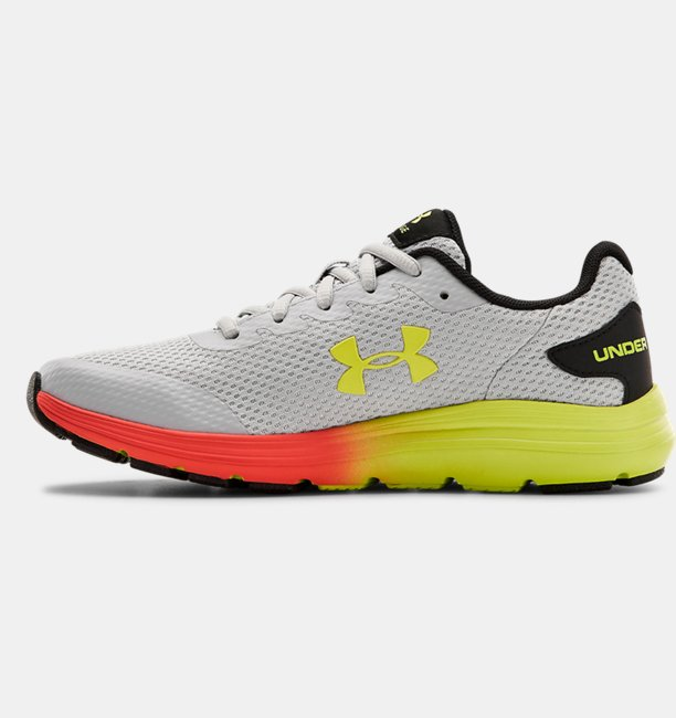 Boys Grade School UA Surge 2 Fade Running Shoes