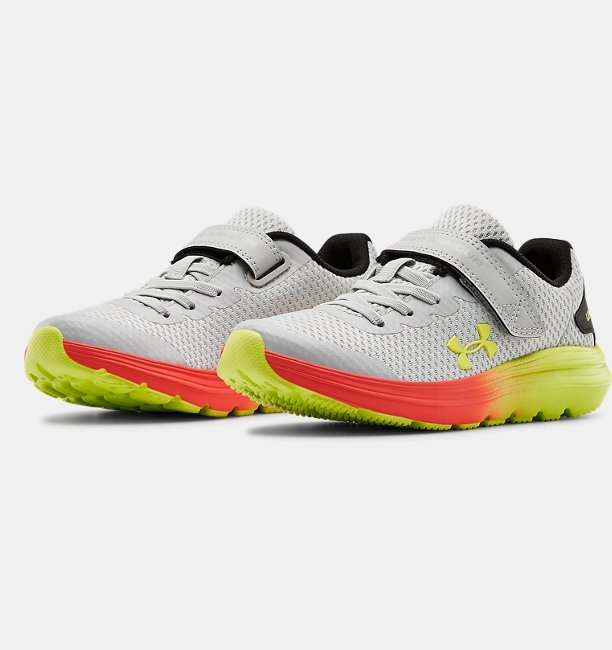 Boys Pre-School UA Surge 2 AC Fade Running Shoes
