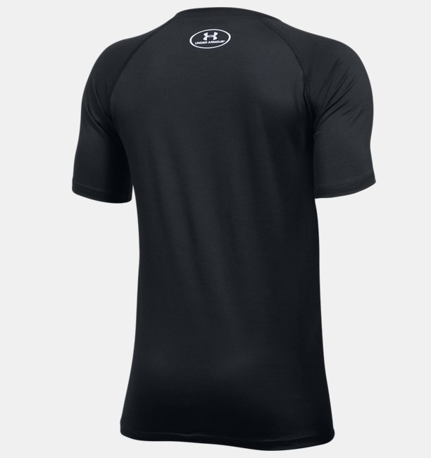 Camiseta Infantil Masculina de Treino Under Armour Tech Big logo