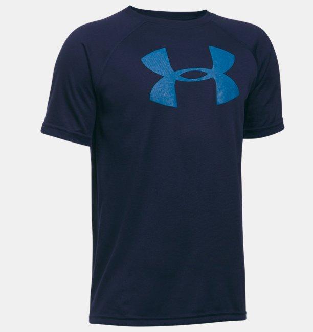 Camiseta de Treino Infantil Masculina Under Armour Tech Big logo