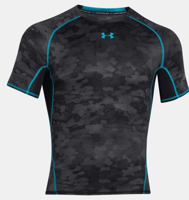 Maglia A Manica Corta UA HeatGear® Armour Printed