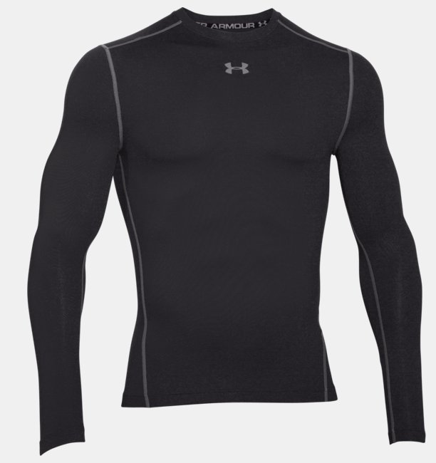 f289ac2462d Camiseta de compresión de cuello redondo UA ColdGear® Armour para hombre