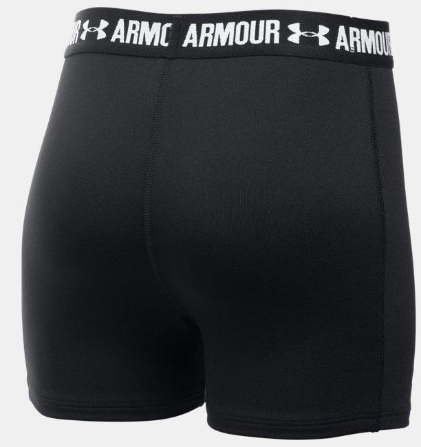 Shorty UA HeatGear® Armour 3 (8 cm) para Niña