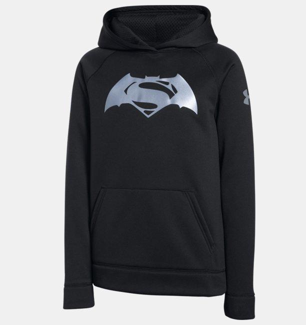 Fabriksnye Boys' Under Armour® Alter Ego Superman Vs. Batman Hoodie | Under JZ-59