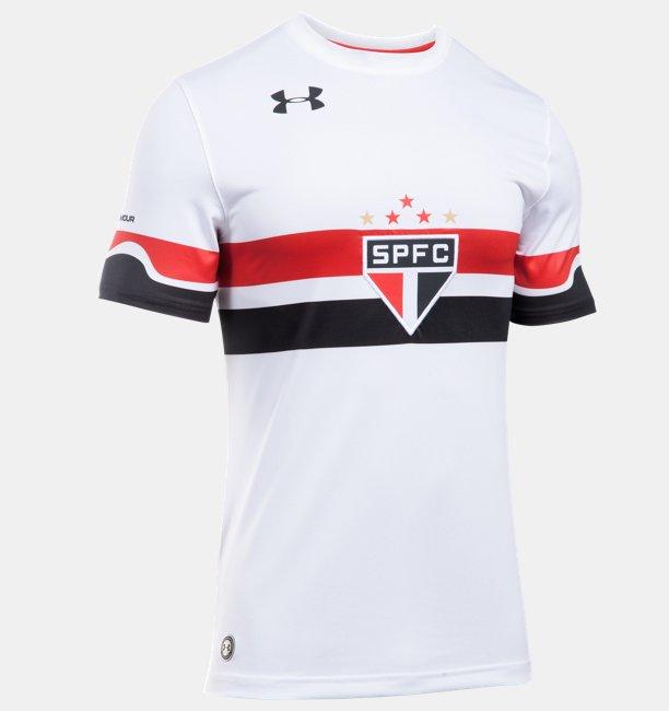bc41164375f Camiseta SPFC Home Oficial 16 17 - Masculina
