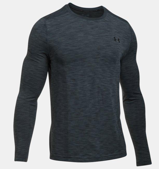 Mens UA Threadborne Seamless Long Sleeve T-Shirt