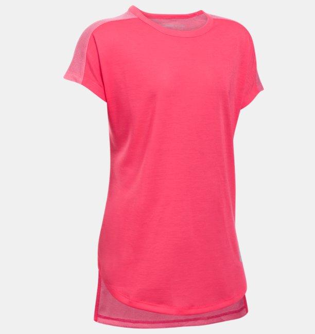 Kız Çocuk UA Threadborne Play Up Tişört