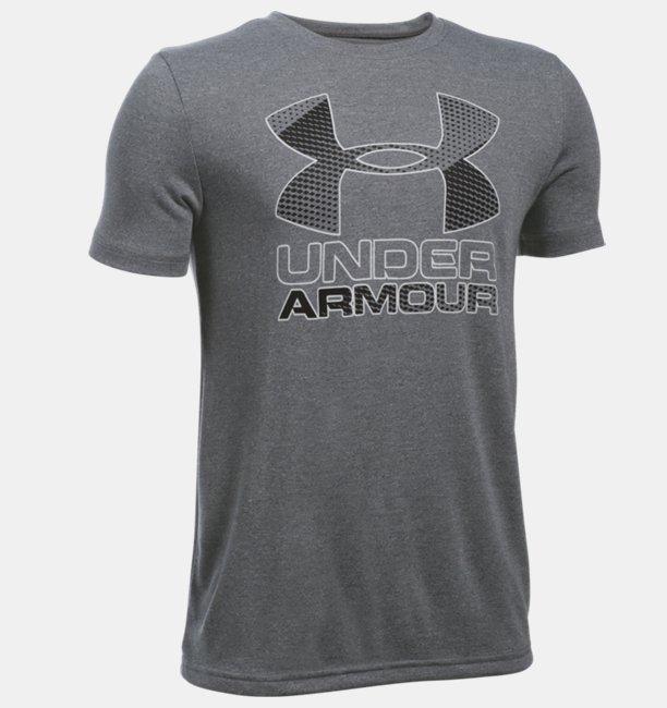 Boys UA Hybrid Big Logo T-Shirt