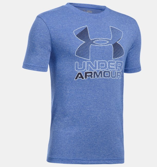 Boys' UA Hybrid Big Logo T-Shirt