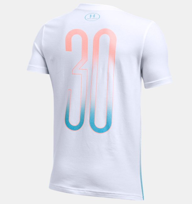 Boys SC30 Player Fade Short Sleeve T-Shirt