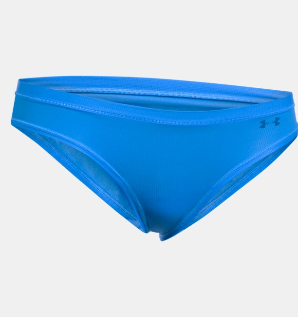Calcinha UA Pure Stretch Sheer Bikini Feminina