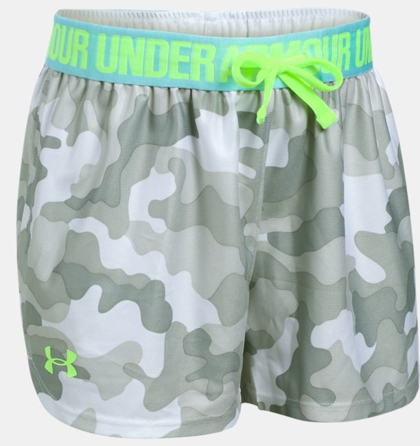 Shorts UA Play Up Printed Infantil Feminino