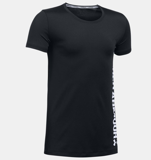 Girls' UA Armour® Short Sleeve