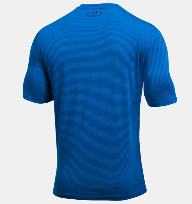 Mens UA Threadborne V-Neck T-Shirt