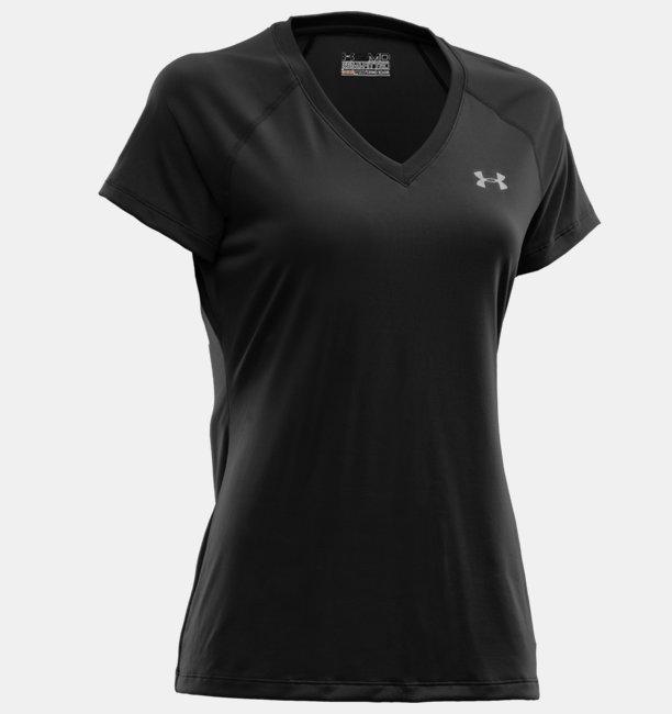 Camiseta UA Tech V-Neck Feminina