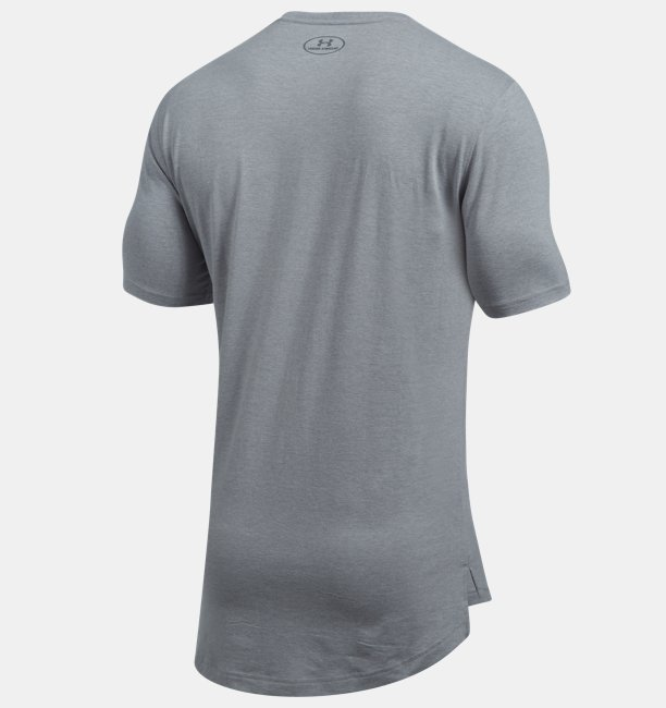 Camiseta UA Baseline Long Line Masculina