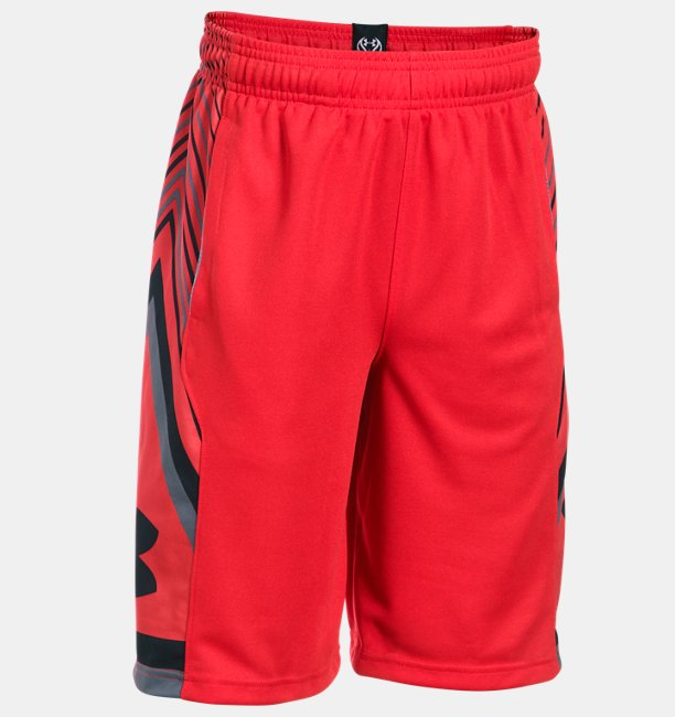 Boys' UA Space the Floor Shorts