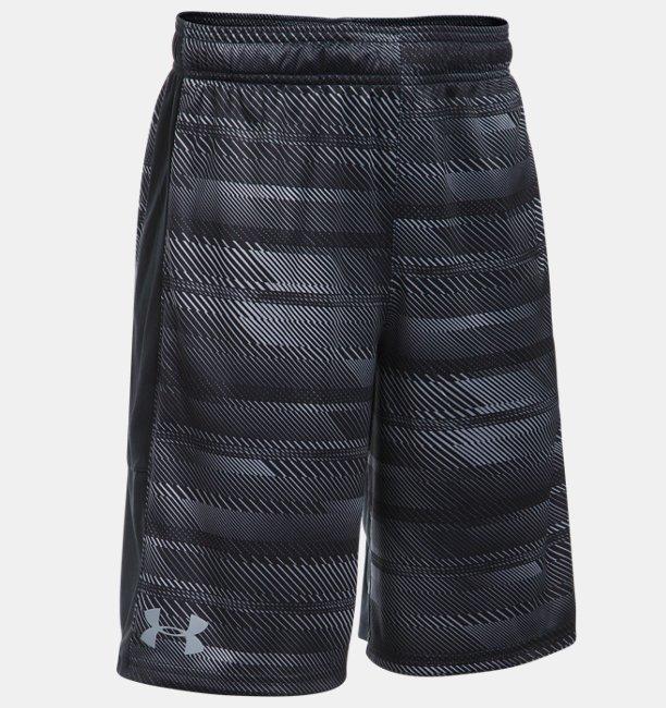 Boys' UA Stunt Printed Shorts