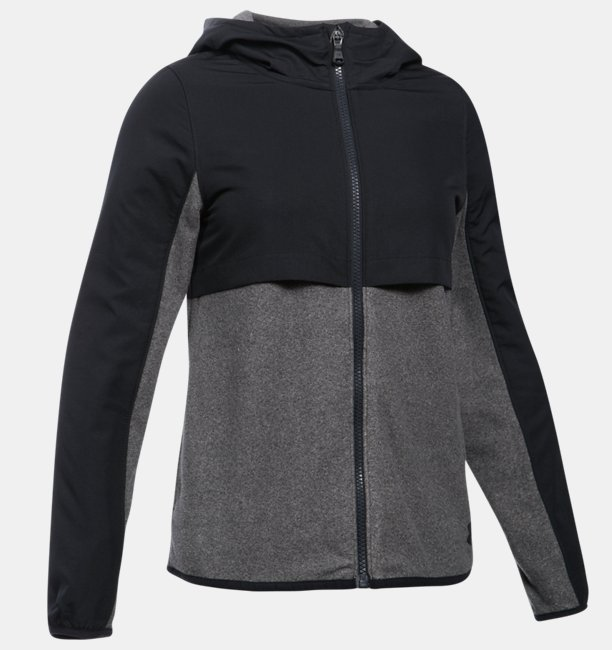 Girls' UA Phenom Fleece Full Zip Hoodie