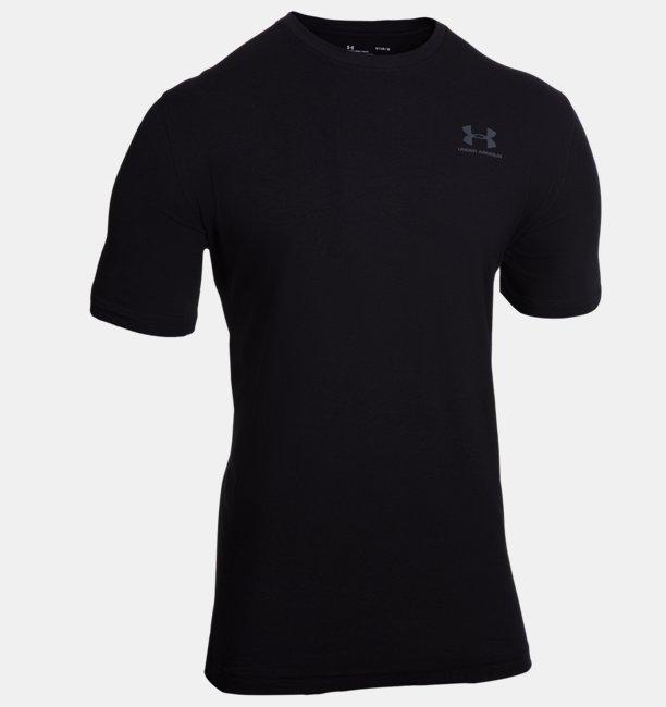 Mens UA Left Chest T-Shirt