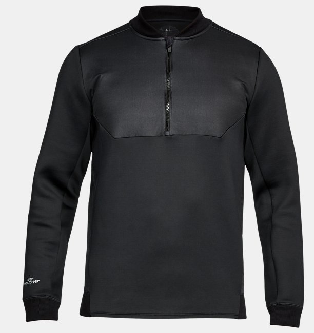 Mens UA Unstoppable GORE® WINDSTOPPER® ½ Zip