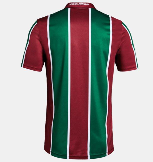 Camiseta UA Fluminense Home Oficial Masculina