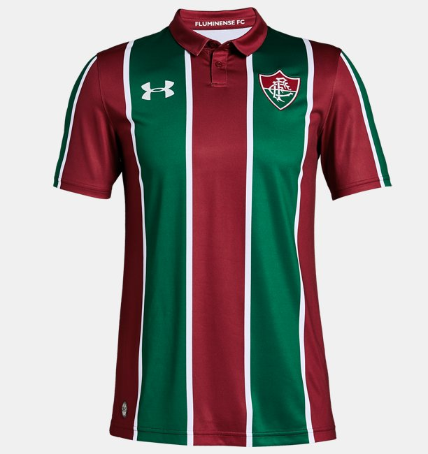 5d38bf2ab6 Camiseta UA Fluminense Home Oficial Masculina | Under Armour BR