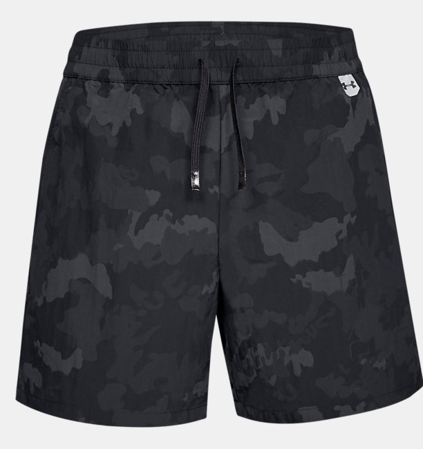 Mens UA Unstoppable Crinkle Shorts