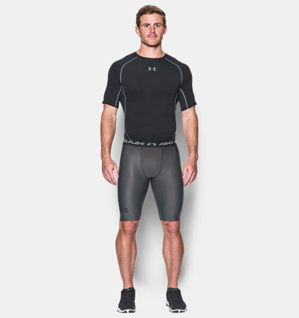 Mens UA Charged Compression Shorts