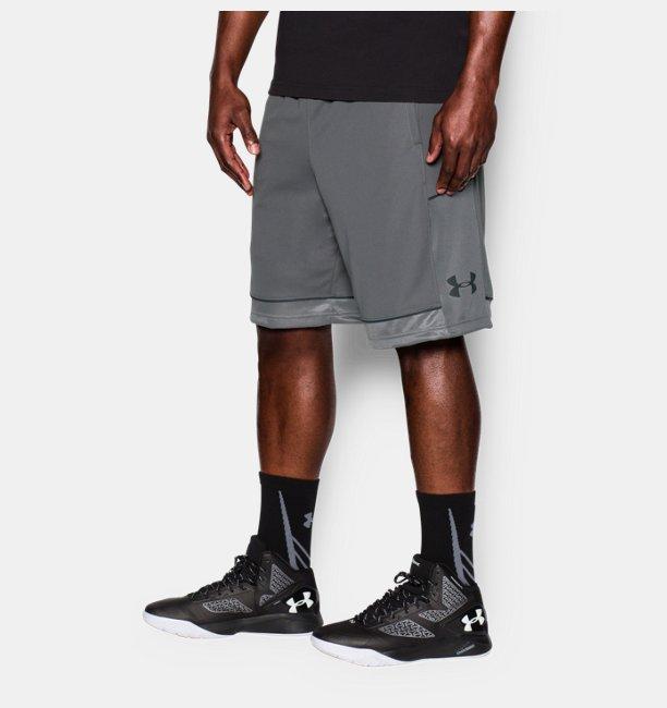 Mens UA Baseline Basketball Shorts