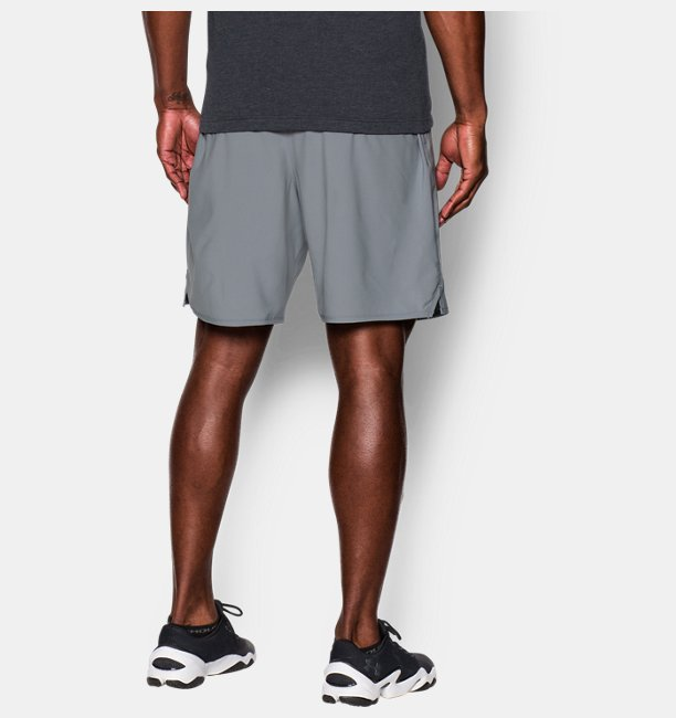 Mens UA Qualifier 9 Woven Shorts