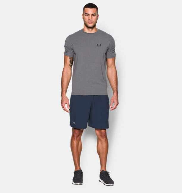 Mens UA Qualifier 9 Woven Shorts