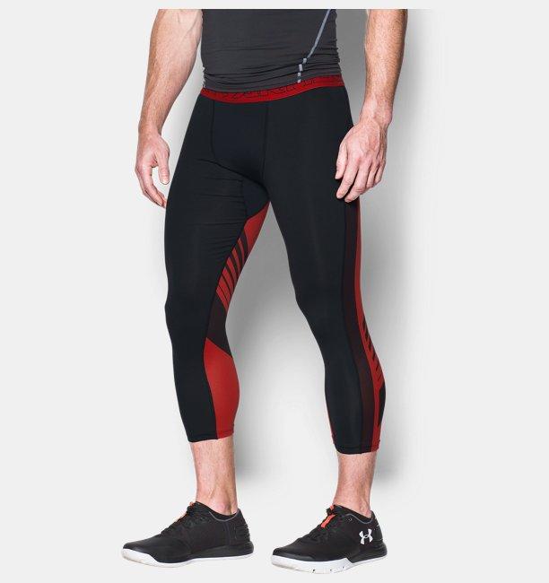 Mens HeatGear® SuperVent Compression ¾ Leggings
