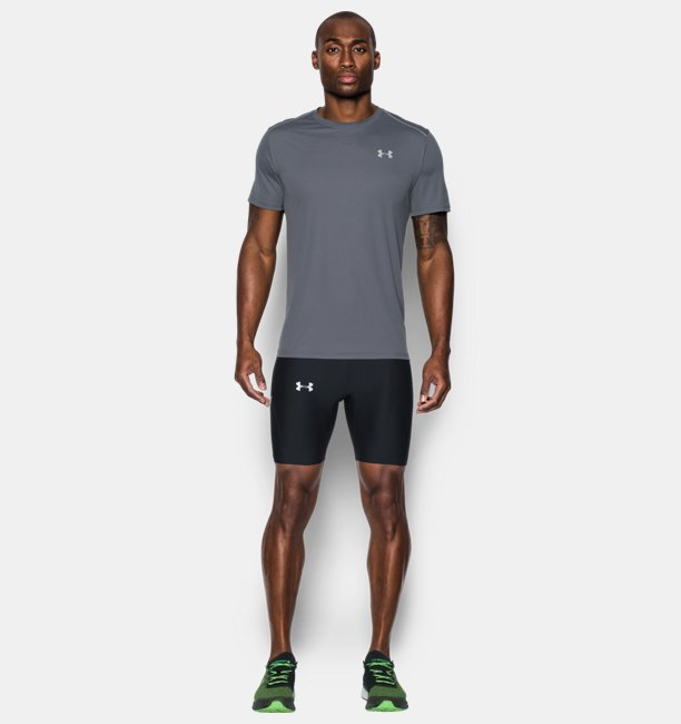 Mens UA Run True Half Tight