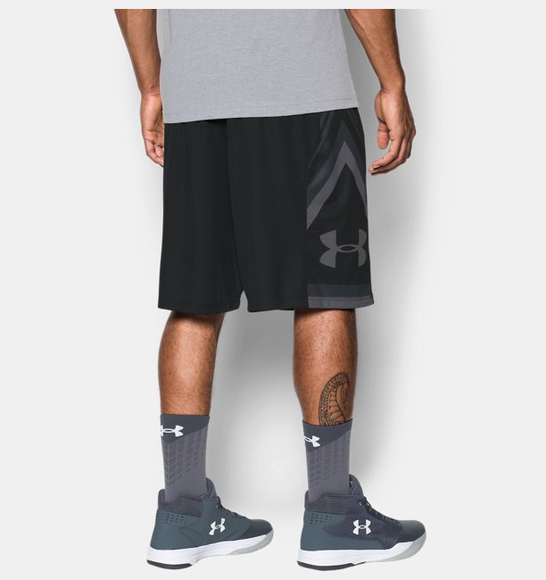 Mens UA Space the Floor Shorts