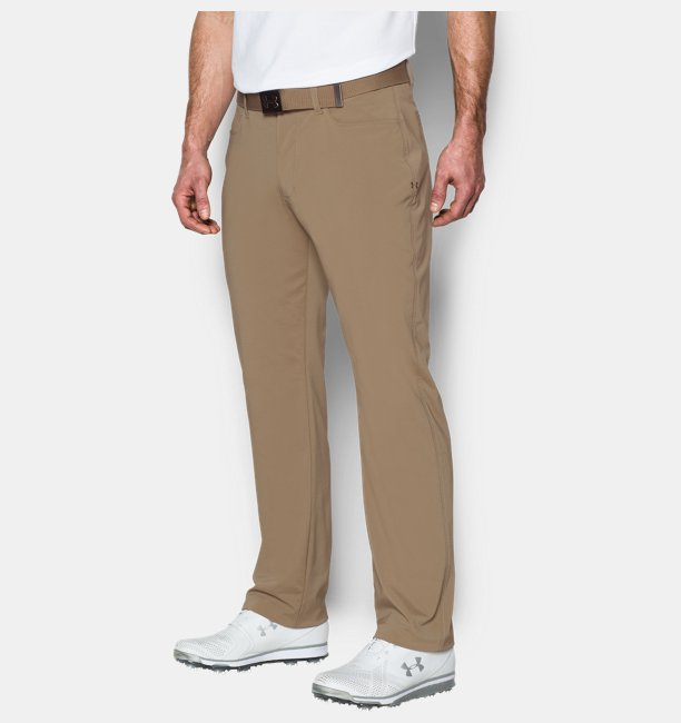 detailed look de156 05173 Mens UA Tech Golf Trousers