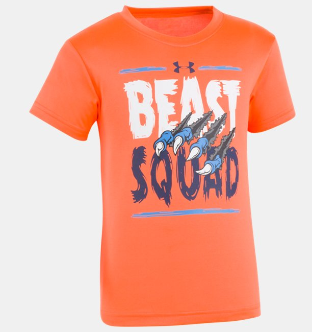Boys Pre-School UA Beast Squad Short Sleeve T-Shirt