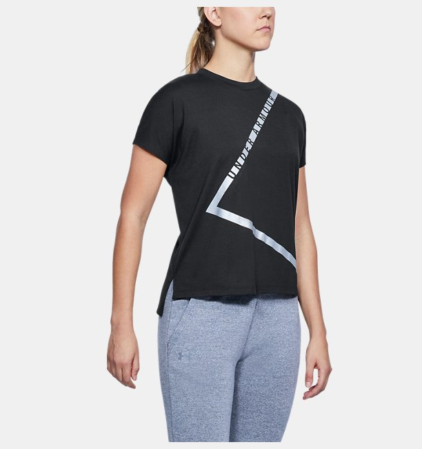 Womens UA Essentials Triangle T-Shirt